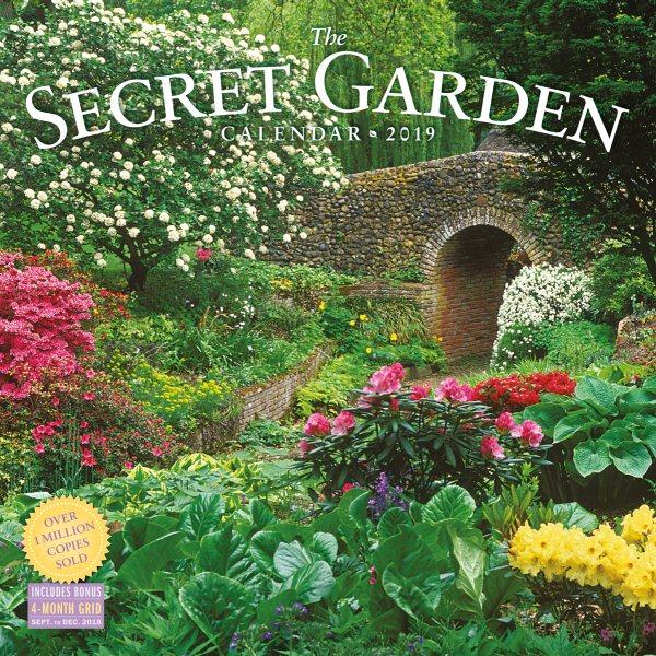 Secret Garden 2019 Calendar(Wall)