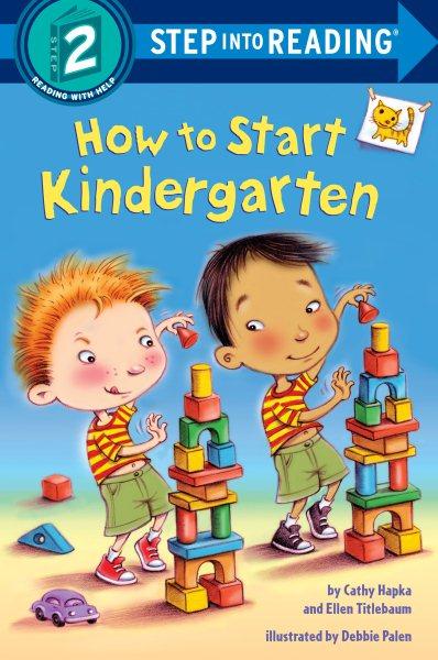 How to Start Kindergarten
