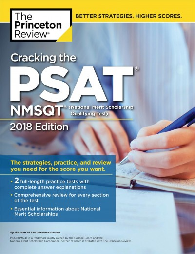 Cracking the Psat/Nmsqt With 2 Practice Tests 2018