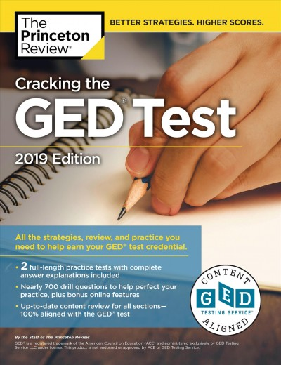 Cracking the Ged Test With 2 Practice Exams 2019