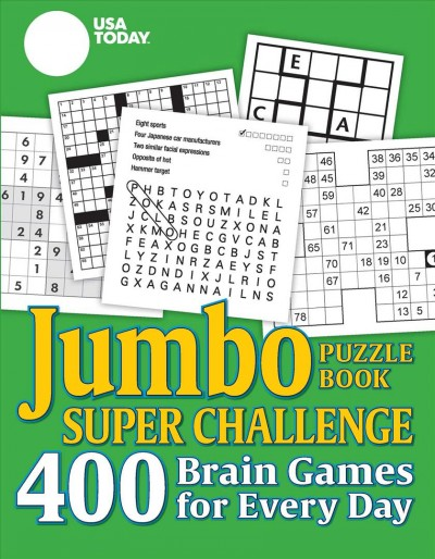 USA Today New Jumbo Puzzle Book