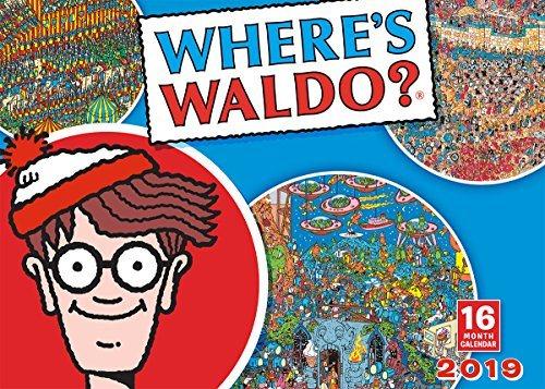 Where Waldo 2019 Calendar
