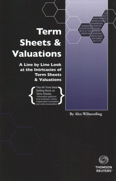 Term Sheets and Valuations 2017