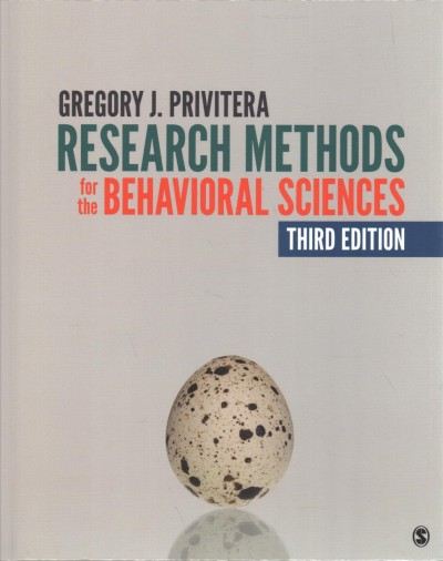 Research Methods for the Behavioral Sciences + Student Study Guide With IBM SPSS Workbook