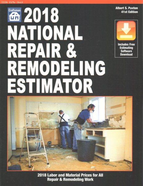 National Repair & Remodeling Estimator 2018
