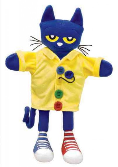 Pete the Cat Four Groovy Buttons Puppet