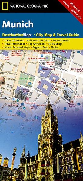 National Geographic Destination City Map Munich