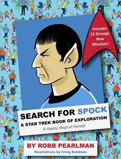 Search for Spock, a Star Trek Book of Exploration