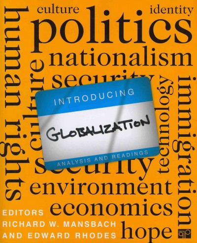 Introducing Globalizational Analysis and Readings