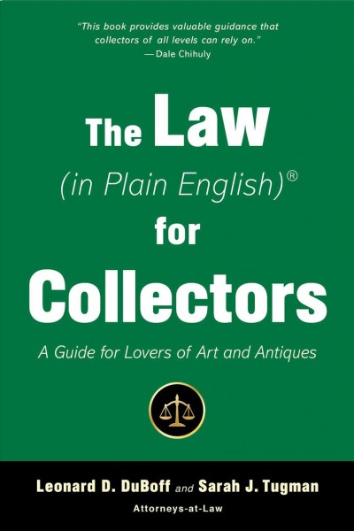 The Law in Plain English for Collectors