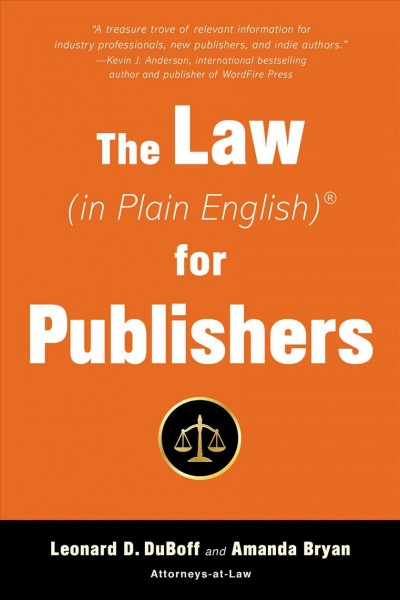 The Law in Plain English for Publishers