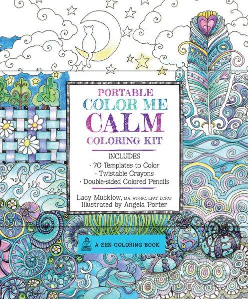 Portable Color Me Calm Coloring Kit