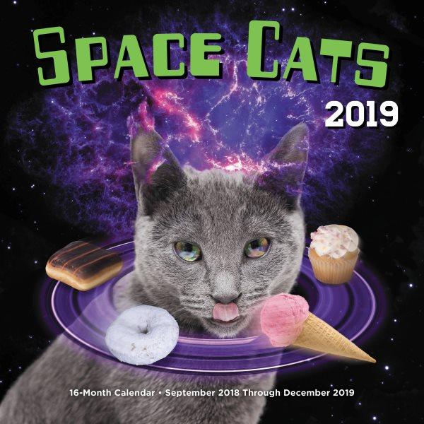 Space Cats 2019 Calendar