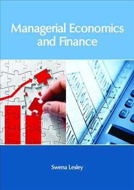 Managerial Economics and Finance