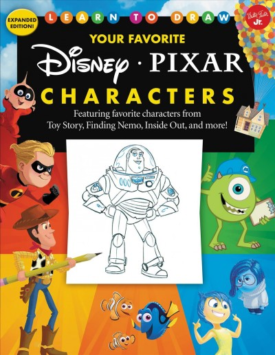 Learn to Draw Your Favorite Disney/Pixar Characters