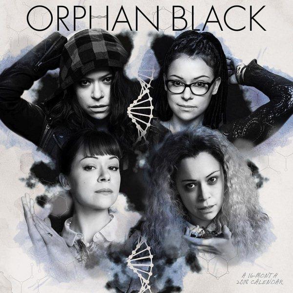 Orphan Black 2018 Calendar(Wall)