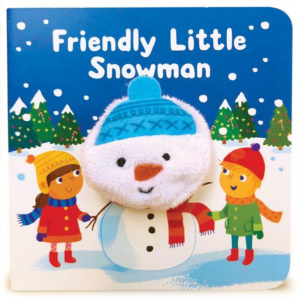 Friendly Little Snowman Finger Puppet Book