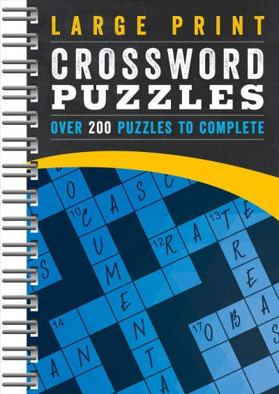 Large Print Crossword Puzzles
