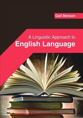 A linguistic approach to english language /