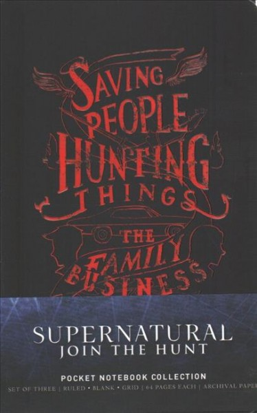 Supernatural Pocket Notebook Collection