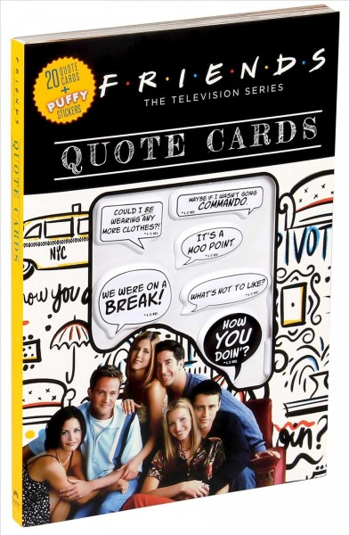Friends Quote Cards