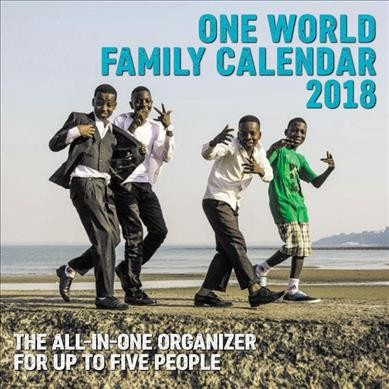 One World 2018 Family Calendar(Wall)