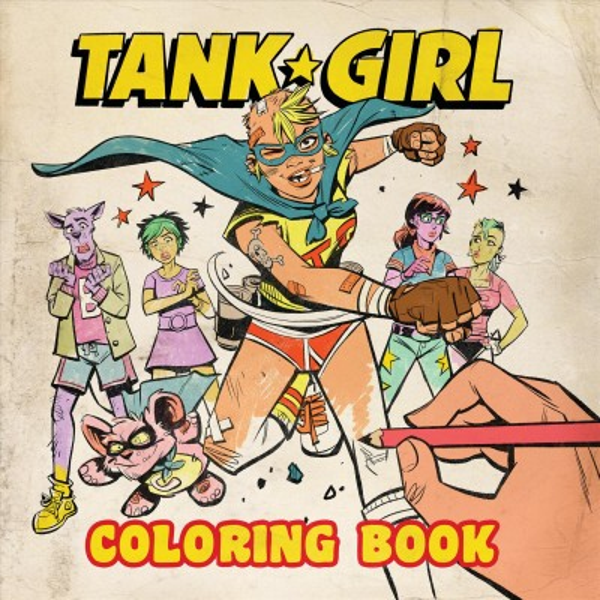 Tank Girl Coloring Book