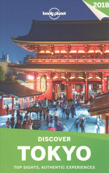 Lonely Planet Discover Tokyo 2018