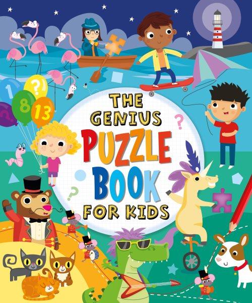 The Genius Puzzle Book for Kids