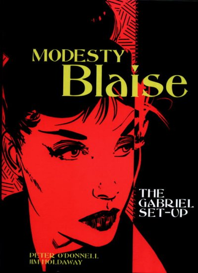 Modesty Blaise: The Gabriel Set-Up