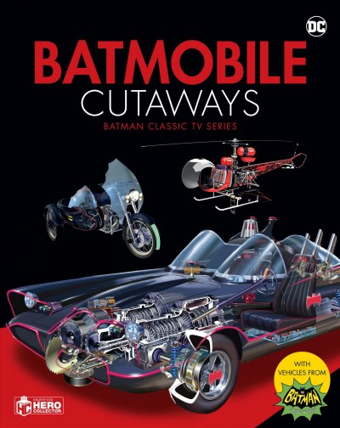Dc Universe Handbook - the Batmobile Cutaway Book Batman \