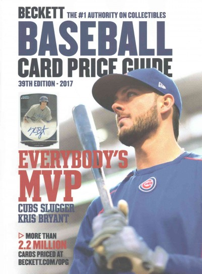 Beckett Baseball Card Price Guide 2017