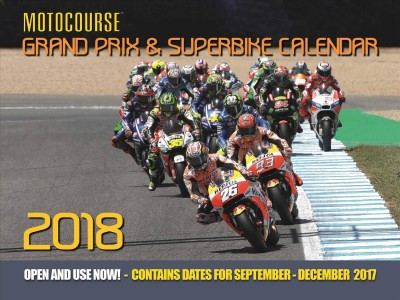Motocourse Grand Prix & Superbike 2018 Calendar