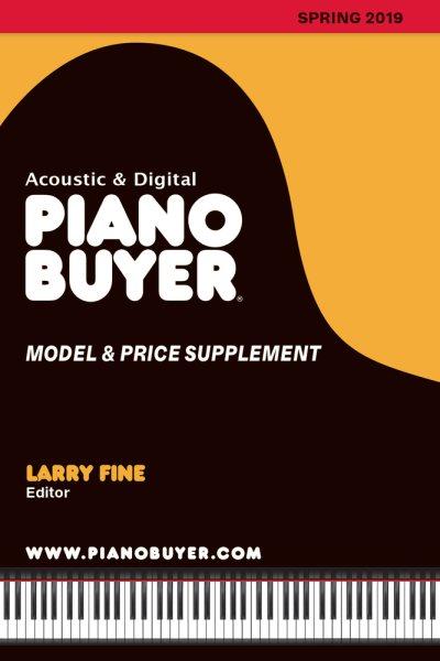 Piano Buyer Model & Price Supplement, Spring 2019