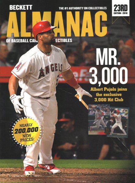 Beckett Baseball Almanac of Baseball Cards & Collectibles 2018