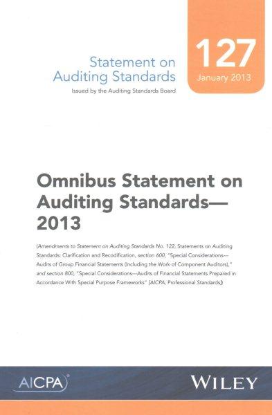 Omnibus Statement on Auditing Standards