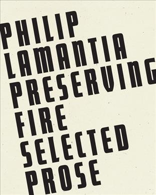 Preserving Fire