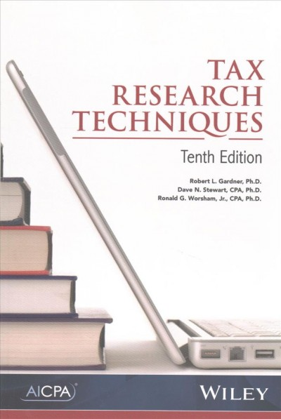 Tax Research Techniques