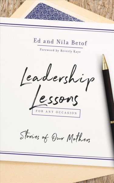 Leadership Lessons for Any Occasion