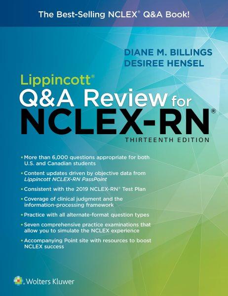 Lippincott Q&a Review for Nclexrn