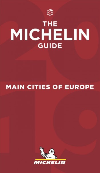 Michelin Red Guide 2018 Main Cities of Europe