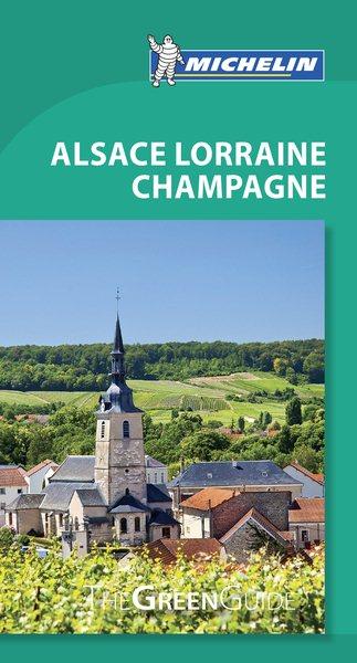 Michelin Green Guide Alsace Lorraine Champagne