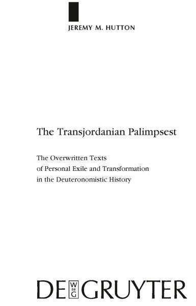 The Transjordanian Palimpsest