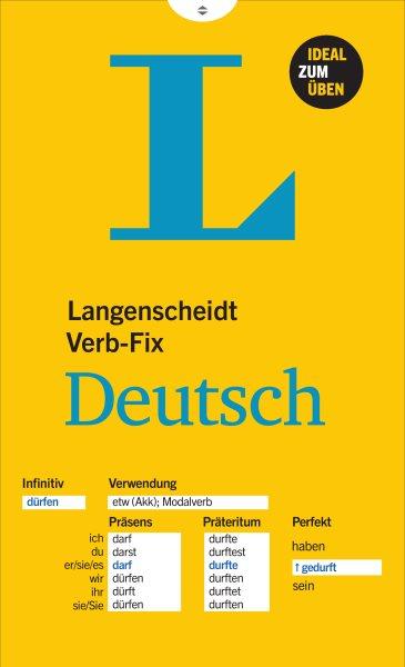 Langenscheidt Verb-fix Deutsch - German Verbs at a Glance