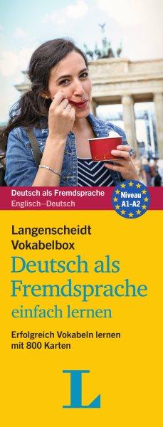 Langenscheidt Vokabelbox Deutsch Als Fremdsprache - German-english Vocabulary Flash Cards
