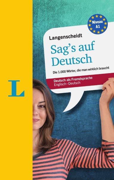 Langenscheidt Sag's Auf Deutsch