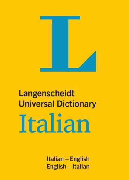 Langenscheidt Universal Dictionary Italian