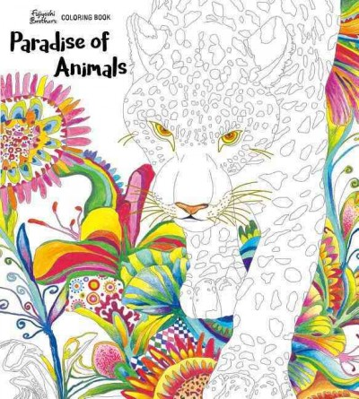 Paradise of Animals Coloring Book