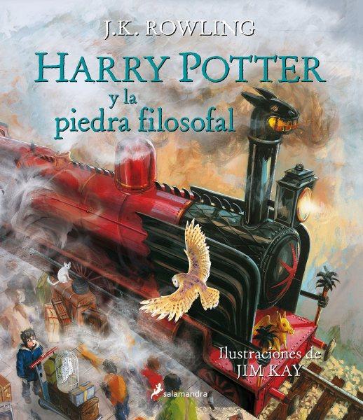 Harry Potter y la piedra filosofal ilustrado / Harry Potter and the Sorcerer's Stone