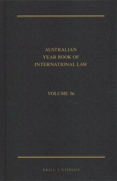 The Australian Year Book of International Law 2018